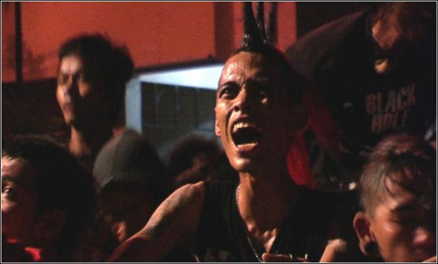 Punk explosion against cenzorship in Indonesia + film -punk in love indonesia
